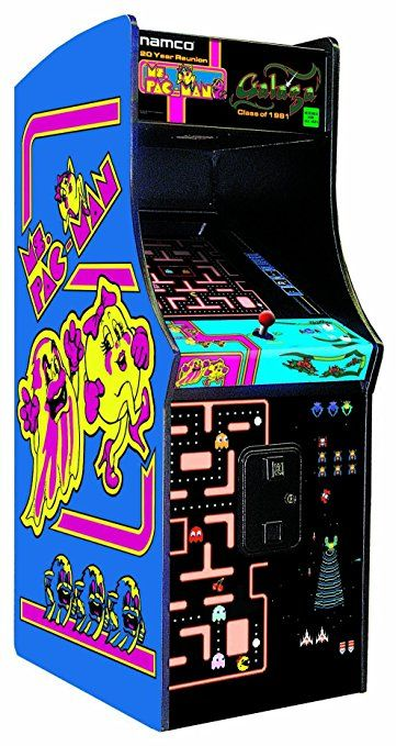 Ms. Pac-Man / Galaga Class of 1981 Arcade Gaming Cabinet This can be your all over again! #oldschool #retrogaming