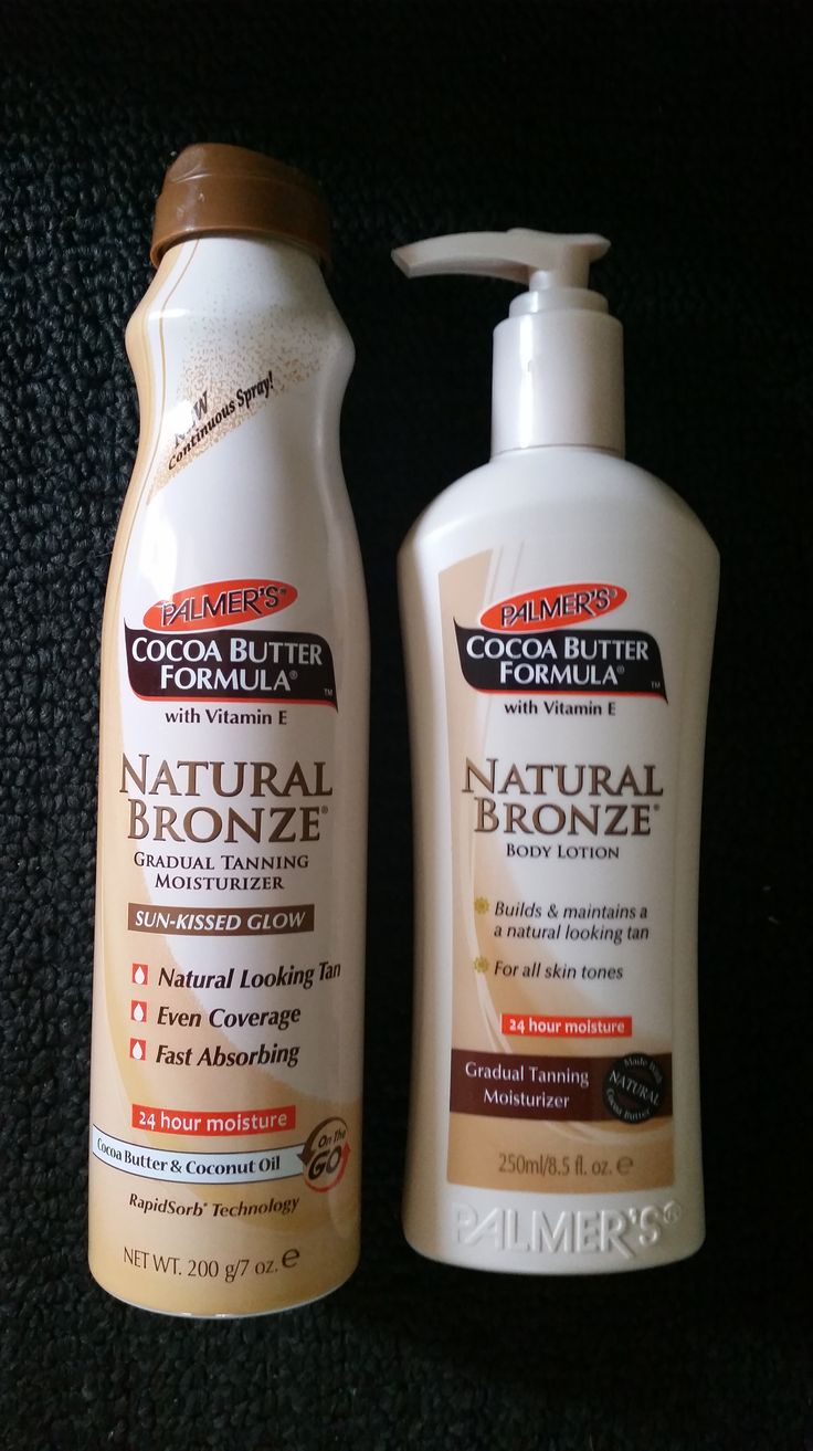 Review Palmers Natural Bronze gradual tanner for summer.