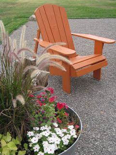 Adirondack Chairs Go Bold!