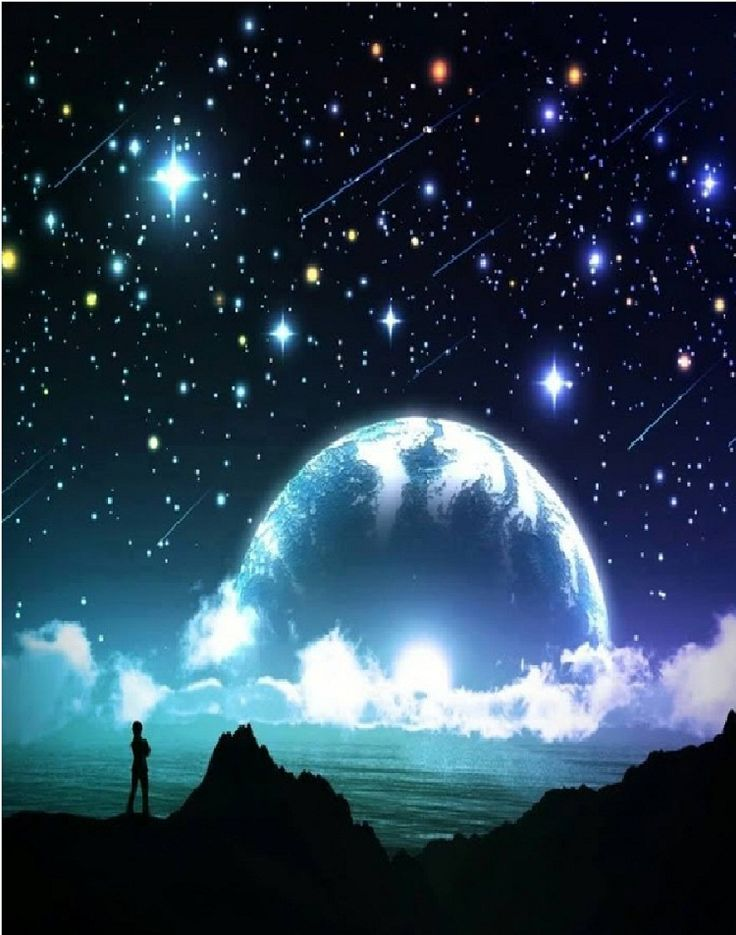 Beautiful Night Sky Wallpaper HD Desktop #890232wx – Yoanu