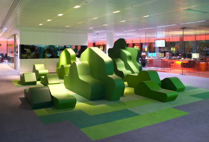 Bloomberg Finsbury Office by Jump Studios – London