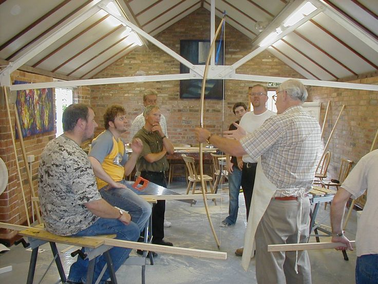 Longbow Making at The Potters Barn