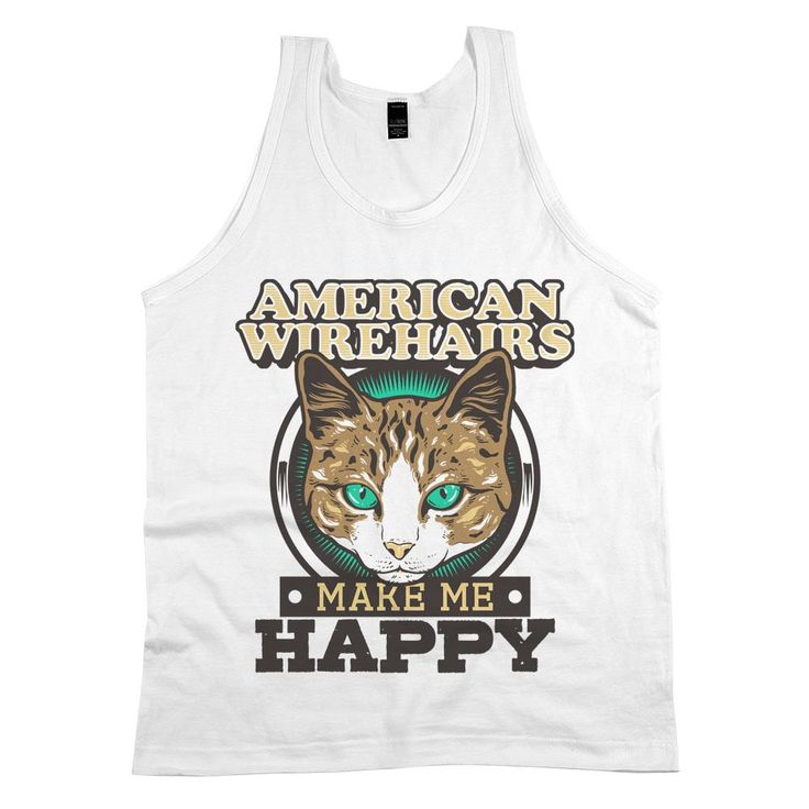 'American Wirehairs Make Me Happy'