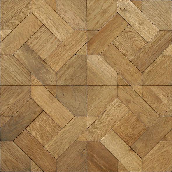 Bohemian Works Maya Oak Parquet Floor Patterns
