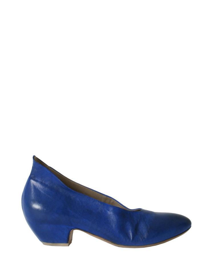 Bluette leather pumps