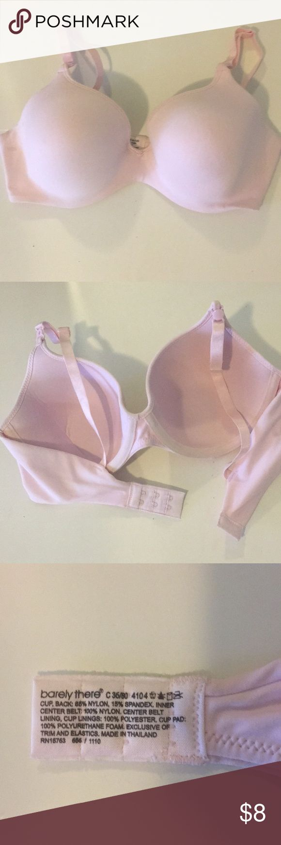 NWOT Baby pink bra Barely there baby pink bra 36C New with out tags Intimates & Sleepwear Bras