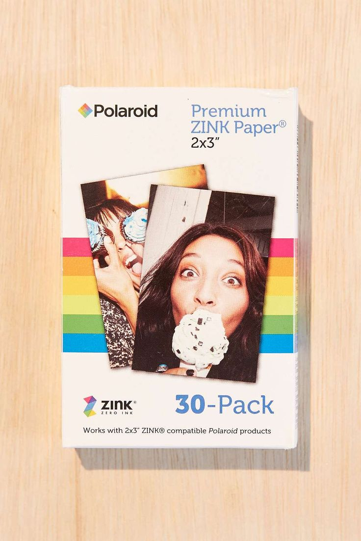 Polaroid Instant ZINK 2x3 Sticker Film - Urban Outfitters