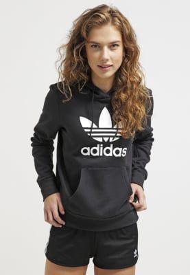 Bestill adidas Originals Hoodie - black for kr 649,00 (14.10.16) med gratis frakt på Zalando.no