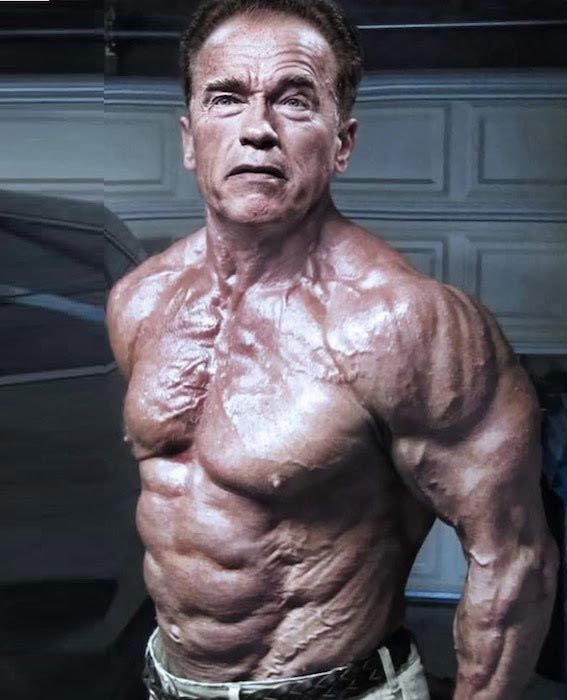 Arnold Schwarzenegger Height Weight Body Statistics