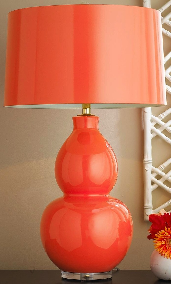 Colorful table lamps -  Coral Lamp It Could Work Well In Modern Traditional Or