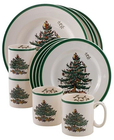 Spode Christmas tree pattern will always remind me of Mom.
