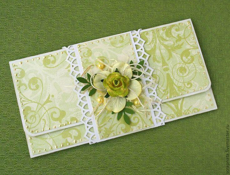 Скрапбукинг открыток и конвертов