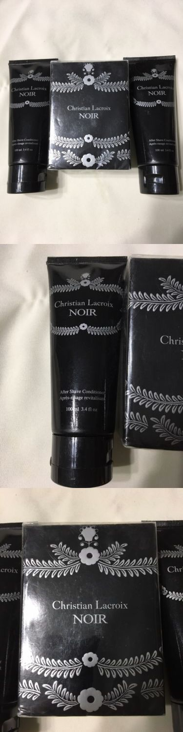 Aftershave and Pre-Shave: Avon Christian Lacroix Noir With 2 After Shave Conditioner New -> BUY IT NOW ONLY: $35 on eBay!