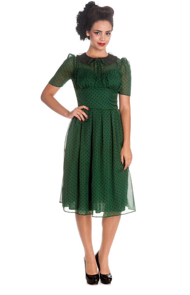 1940s style tea dresses