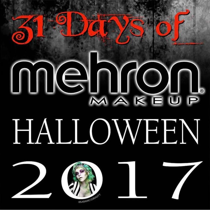 I adore @mehronmakeup and seeing as I'll be using a lot of their face paints for my Halloween looks I may as well enter their competition!  #mehronmakeup #31daysofmehronmakeup #31daysofmehronhalloween #halloweenmakeup #halloween2017