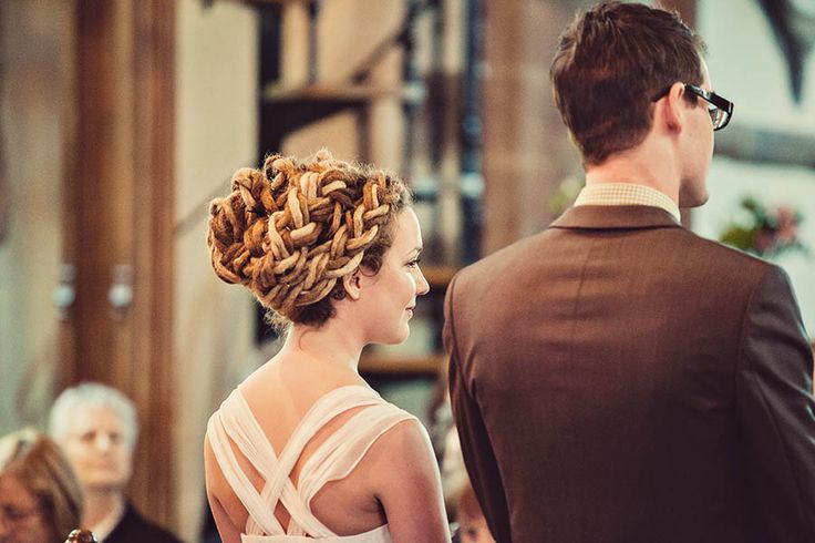 I want my dreads to look like this! /// A Village Hall, DIY  A Beautiful Bride with Dreadlocks: Gavin  Hollie