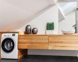Metamorfoza łazienki. Wolsztyn - Łazienka, styl nowoczesny - zdjęcie od LaskowskaWnętrza