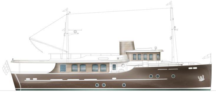 24m Livingstone Hartman Yachts #makoboatsclassic