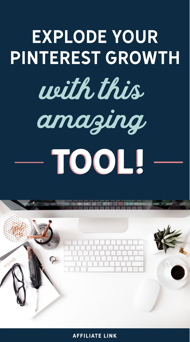 Click through to start a free trial on my favorite Pinterest tool!