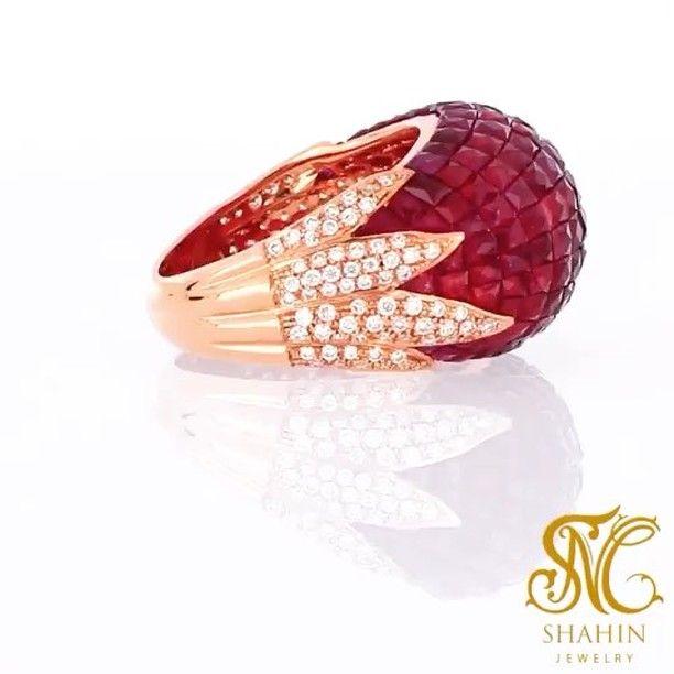 gold #rosegold #18K #diamond #preciousstone #handmade