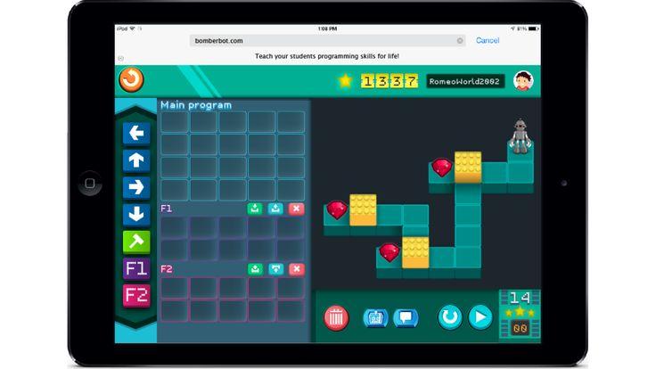 Opeta ohjelmointia Bomberbotin avulla!