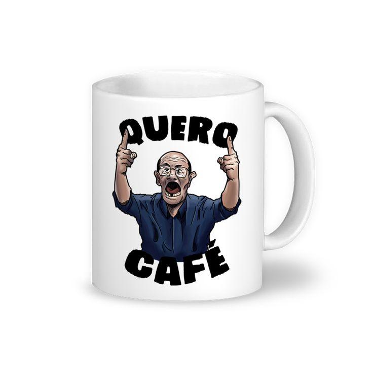 Caneca Quero Café! de @leopmg   Colab55