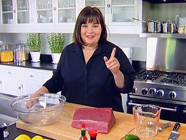 Tuna Tartare Recipe : Ina Garten : Food Network