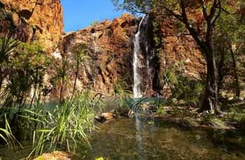 El Questro Station - The Jewel of the Gibb River Road. Go and swim under a postcard perfect waterfall.