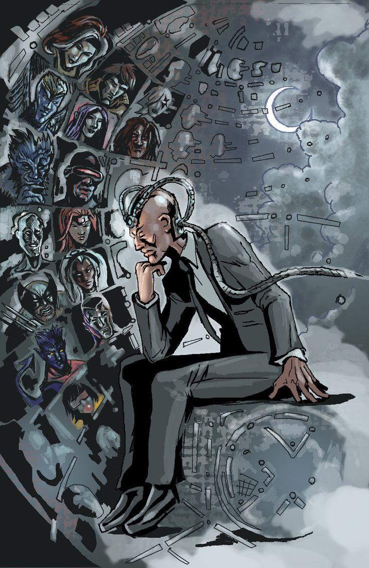 Professor Xavier by Timothy Lasky Professor xavier