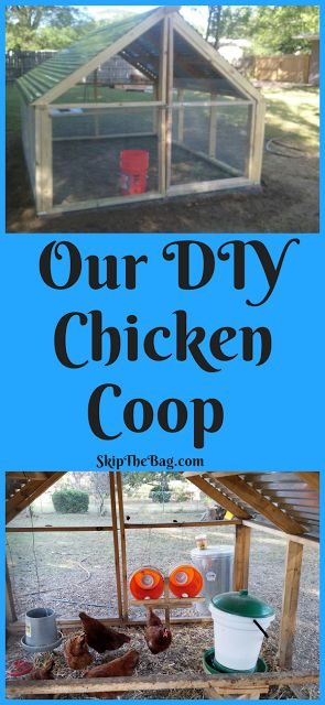 SkipTheBag: Our DIY Chicken Coop How to build an open air, warm weather, chicken coop. We live in Florida, so it's great for hot weather.