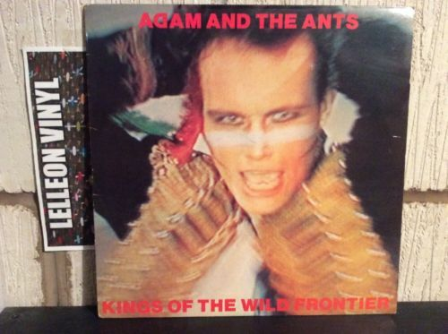 Adan And The Ants Kings Of The Wild Frontier LP CBS 84549 Pop 80's Music:Records:Albums/ LPs:Pop:1980s