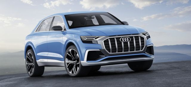 Audi with three new products at the North American International Auto Show (NAIAS): The study of the new Audi Q8 – VAU-MAX-Inside
