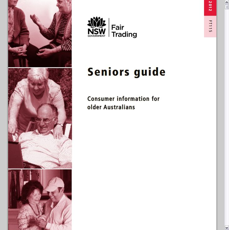 Consumer Guide Book: 1000+ Images About Aged Care Books, Info & Ideas On