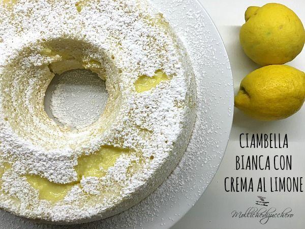 ciambella bianca con crema al limone