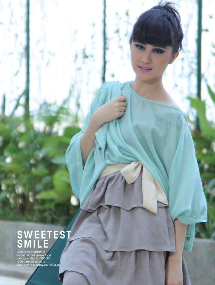 Fashion Spread Sister Magazine March 2012 (Sweetes Smile)