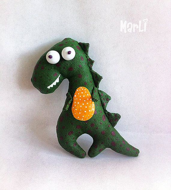 Dragon baby brooch by MarLitoys on Etsy