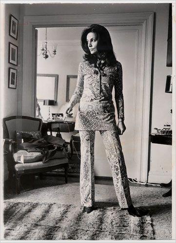 Diane von Furstenberg in The New York Times.. this phot was takened in 1970