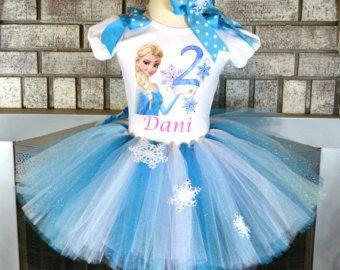 Frozen Inspired Anna Tutu and Custom Shirt por PrincessFactoryTutus