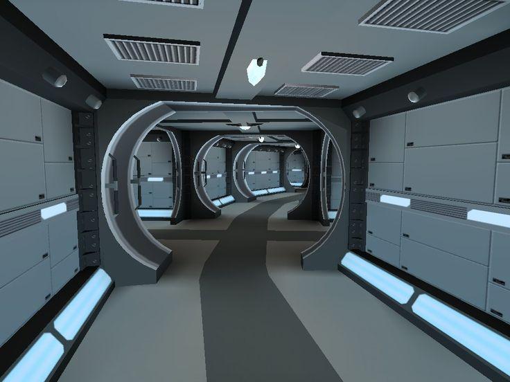 внутри космического корабля картинки пистолетами
