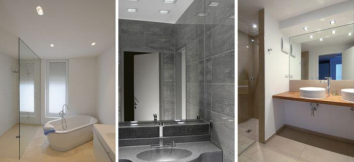 Badezimmer Einbauleuchten mit entsprechend hoher Schutzart gibt es im Online-Shop von prediger.de