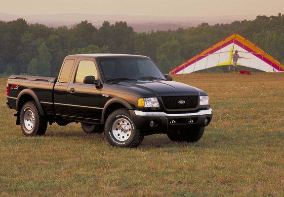 Ford Ranger XLT FX4 Super Cab 2002–03