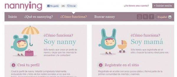 comunidad de nannys que muestran sus perfiles para permitir ser contratadas por las familias que lo necesiten.