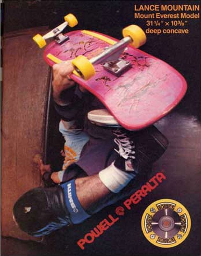 Lance Mountain - Powell Peralta - T-Bones