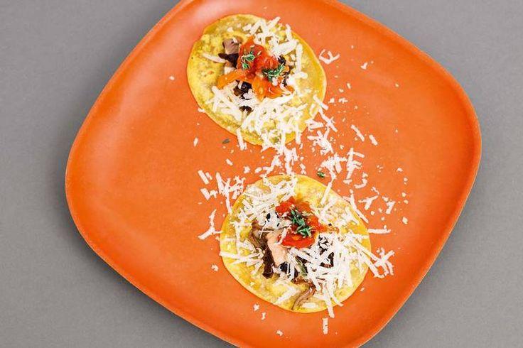 Oppskrift på sunn taco med sopp av Jonas Lundgren #treningsmat #jonaslundgren