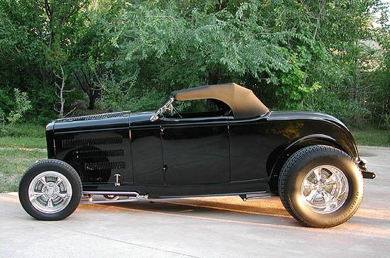 Stanley Wanlass's '32 Ford Roadster