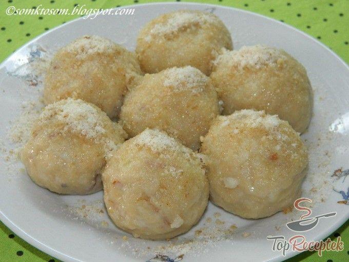 Almás gombóc,tojás nélkül (2 hozzávalóból)   TopReceptek.hu