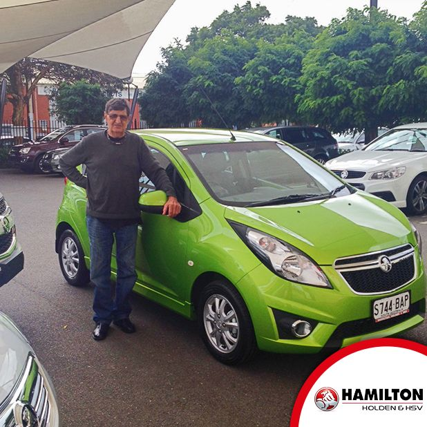 A new Barina Spark...we hope you love your new set of wheels.