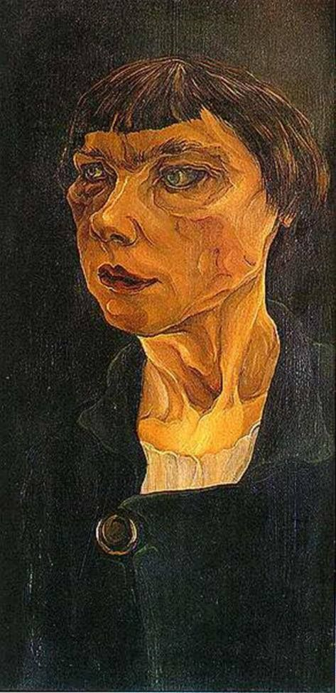 Alice Sommer (German, 1898-1982) Head of a Woman (1925)