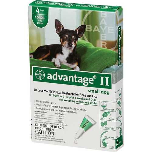 Advantage Ii Dog Green Flea Control For Dogs Tick Control For Dogs Dogs And Puppies