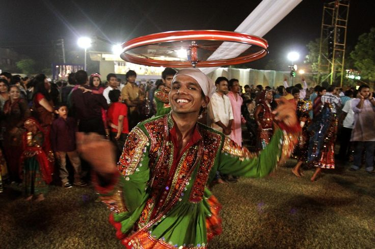 Navratri is observed in the Hindu calendar month of Ashwin . In